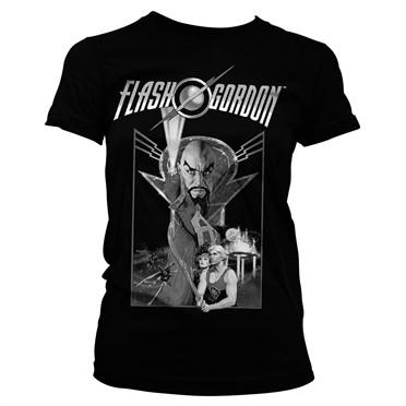 Flash Gordon Vintage Poster T-shirt donna