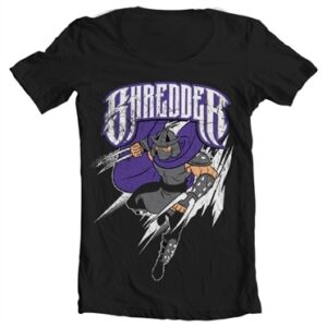 The Shredder T-shirt collo largo