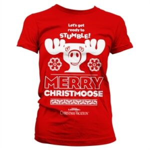 Merry Christmoose T-shirt donna