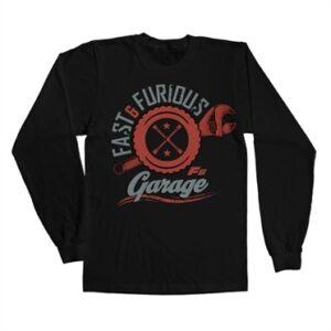 Fast & Furious Garage Long Sleeve T-shirt