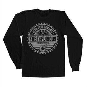 Fast & The Furious Genuine Brand Long Sleeve T-shirt