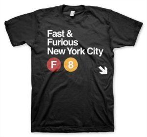 Fast & Furious NYC T-Shirt