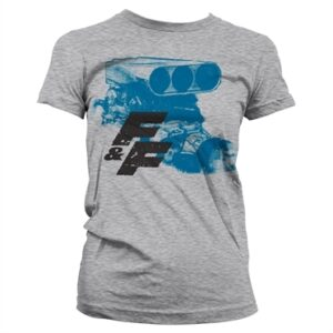 Fast & Furious Engine T-shirt donna