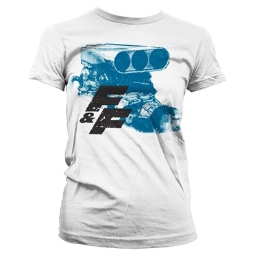 Fast & Furious Engine T-shirt donna