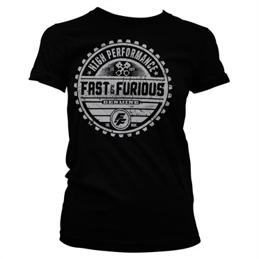 Fast & The Furious Genuine Brand T-shirt donna