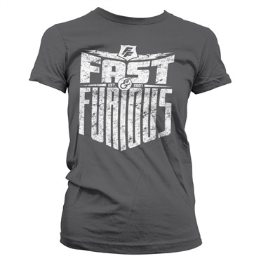 Fast & Furious - Est. 2007 T-shirt donna