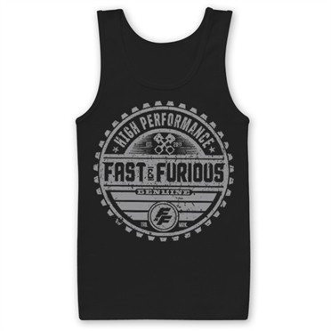 Fast & The Furious Genuine Brand Tank Top