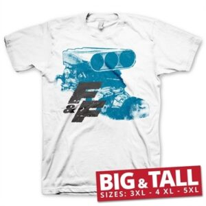 Fast & Furious Engine Big & Tall T-Shirt