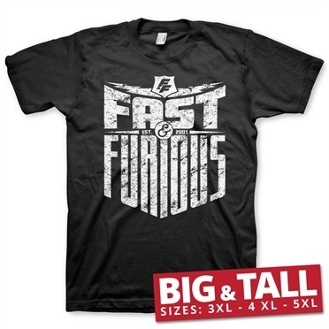 Fast & Furious - Est. 2007 Big & Tall T-Shirt