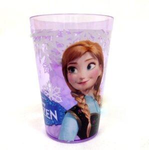 Bicchiere plastica Disney Frozen rosa