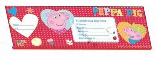 Carnet Inviti Festa Peppa Pig