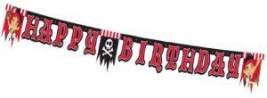 Festone Happy BirthdayJake e i Pirati