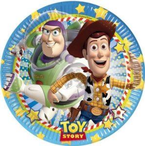 Piatti festa Toy Story Star