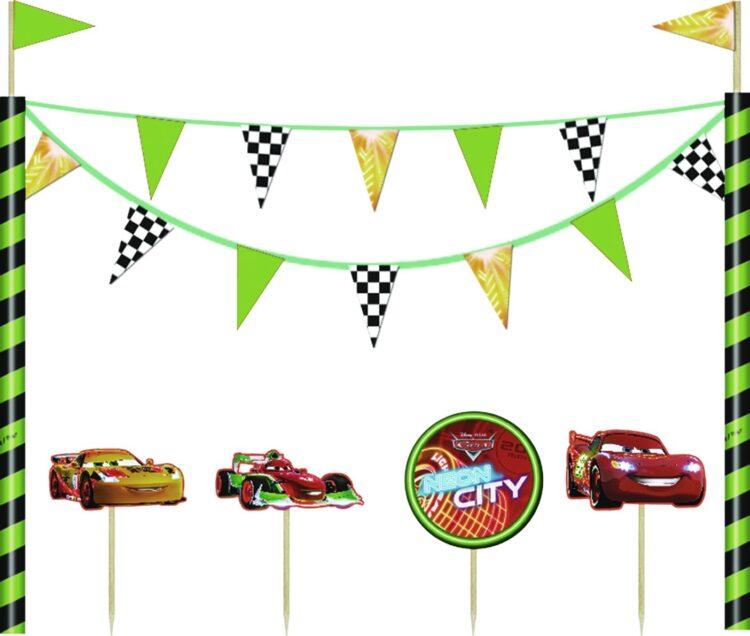 Kit Decorazioni torta Disney Cars
