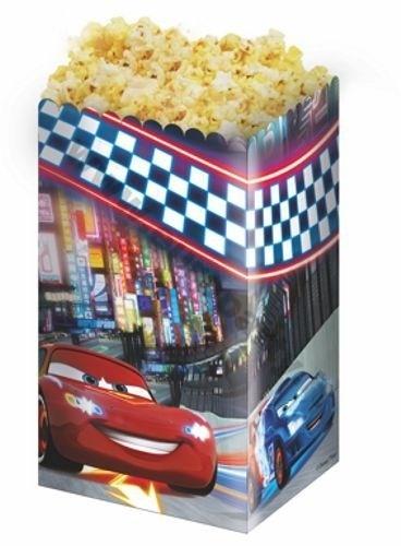 Contenitore Pop Corn Disney Cars 4 pz