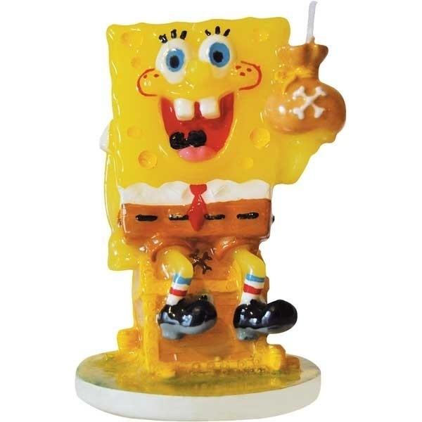 Candelina per torta Spongebob