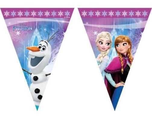 Festone bandierine Disney Frozen Northern Light