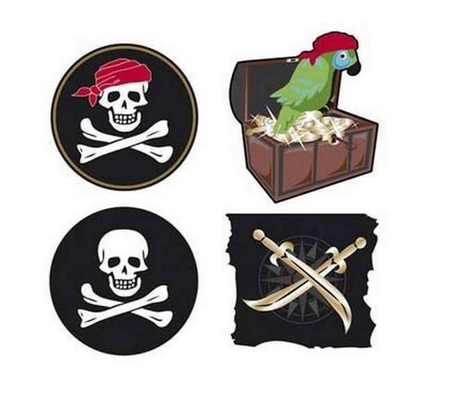 девушкам, картинки на шпажки в пиратском стиле оформлении фасада вставками