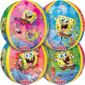 Palloncino ad elio Spongebob