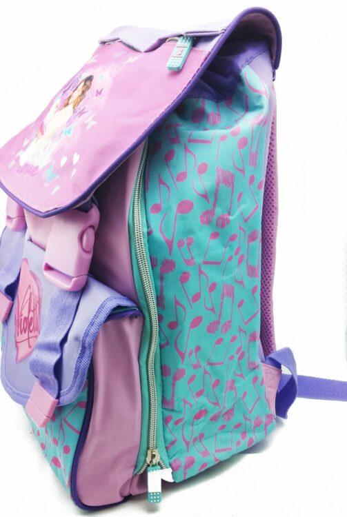 Zaino elementari estensibile Violetta Disney