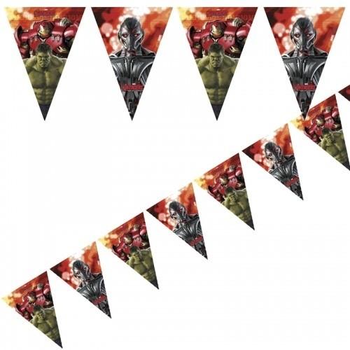 Festone bandierine Avengers Age of Ultron