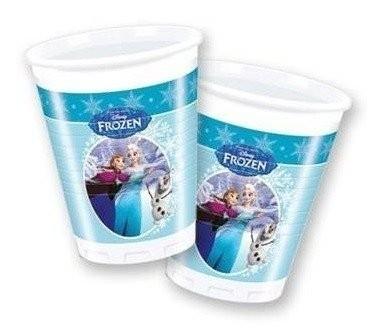 Bicchieri party Disney Frozen Ice Skating