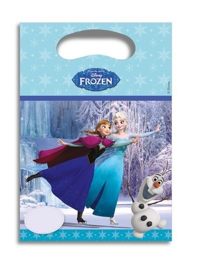 Party bags Disney Frozen Ice Skating