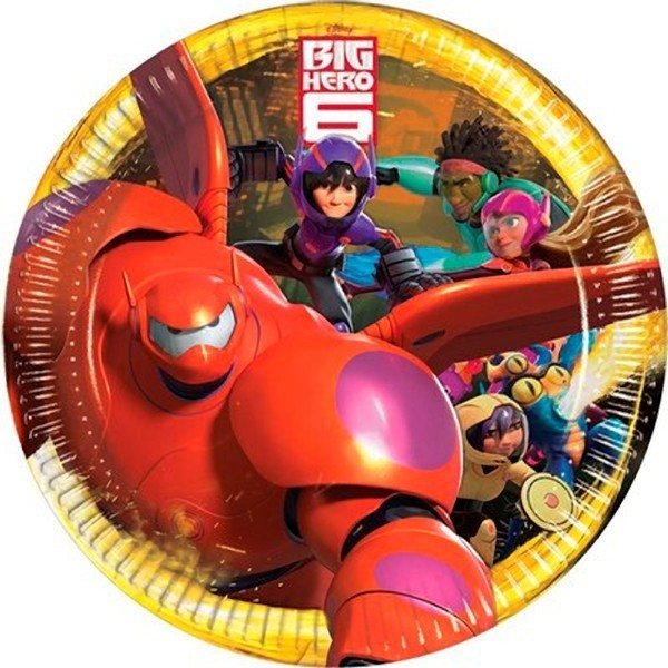 Piatti festa a tema Big Hero 6