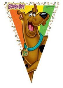 Festone bandierine Scooby Doo