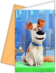 Inviti con busta Pets - Vita da Animali