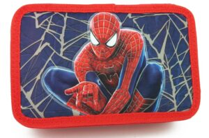 Astuccio triplo Spiderman