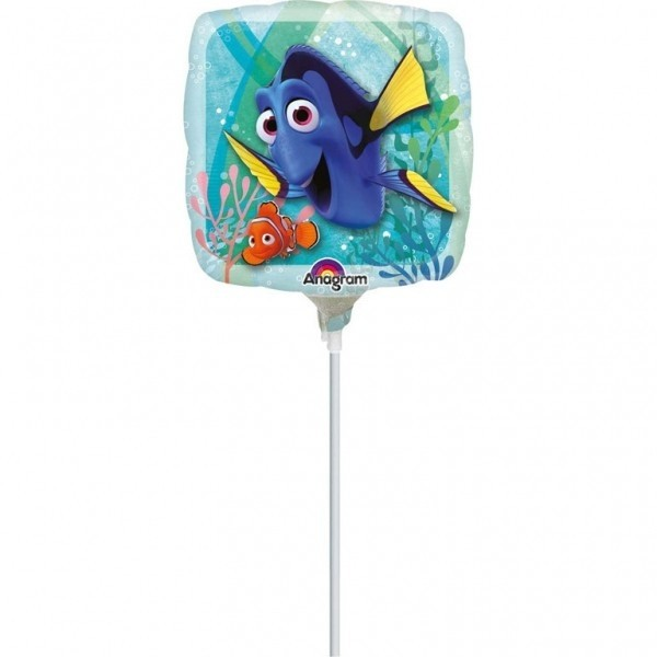 Palloncino in mylar mini shape Dory e Nemo