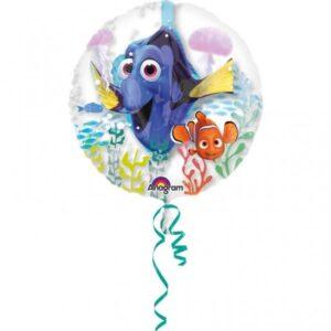 Palloncino trasparente Dory e Nemo 60 cm