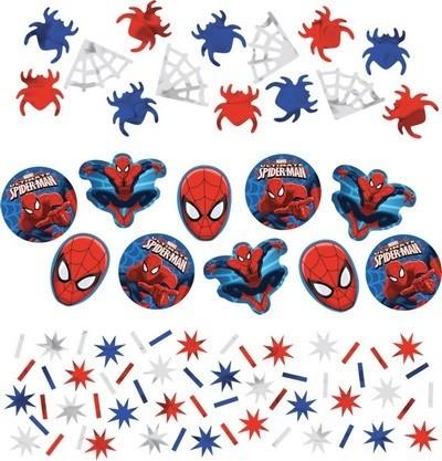 Coriandoli sagomati festa a tema Spiderman
