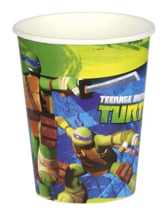 Bicchieri festa Tartarughe Ninja Mutanti