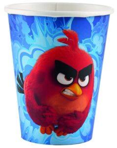Bicchieri festa a tema Angry Birds Movie