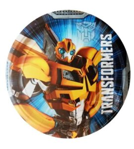 Piatti dessert Transformers 8pz