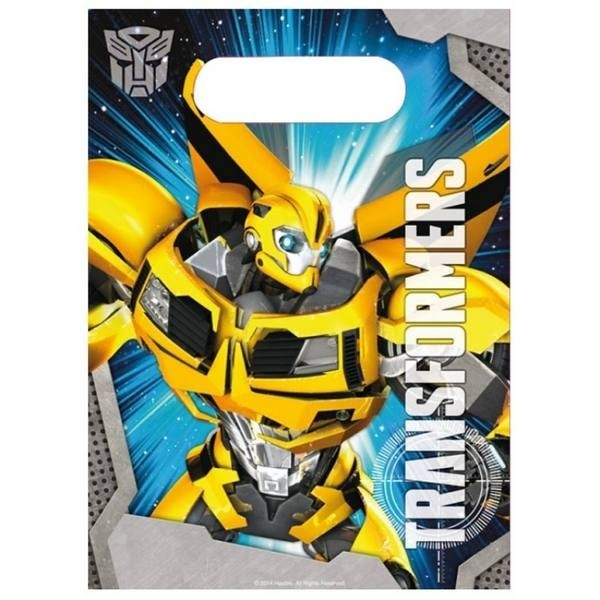 Party Bags Transformers 6pz