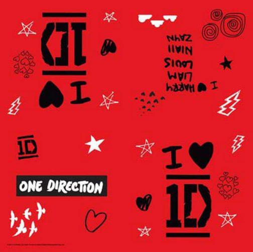 Tovaglioli festa One Direction