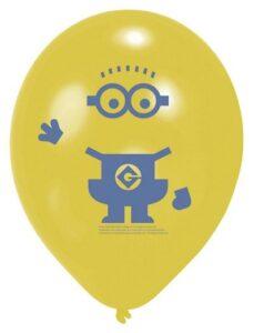 Confezione palloncini Minions Cattivissimo Me 6pz