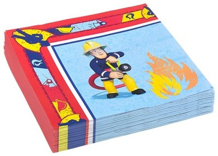 Tovaglioli per festa Sam il Pompiere