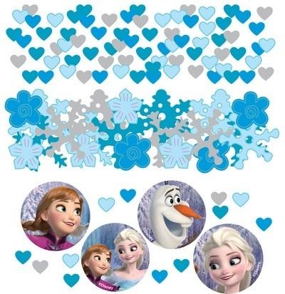 Coriandoli sagomati festa a tema Disney Frozen