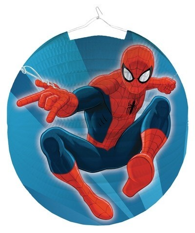 Decorazione Lanterna rotonda Spiderman