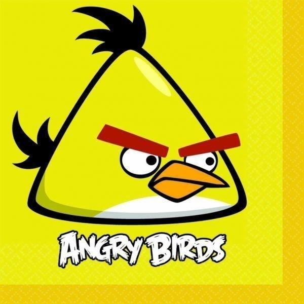 Tovaglioli festa Angry Birds