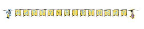 Festone bandierine Happy Birthday Zou