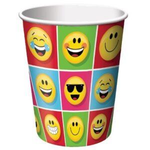 Bicchieri festa a tema Emoji