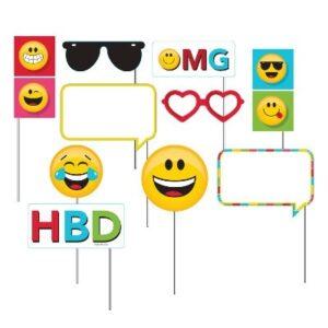 Photo Props Emoji 10 pz