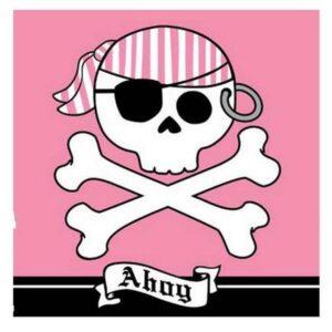 Tovaglioli festa Pirati Ahoy