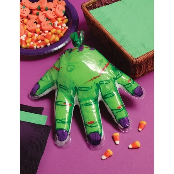 "Party bags ""mano verde"" Halloween"