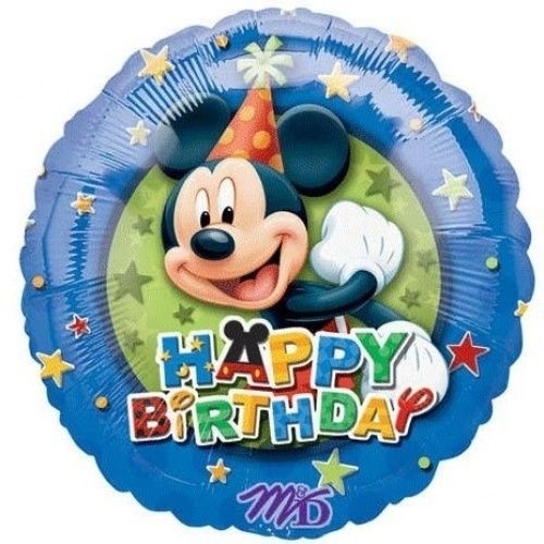 Palloncino Happy Birthday Topolino